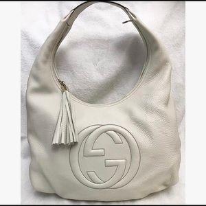 Gucci Soho Large Pebbled Leather Hobo Bag